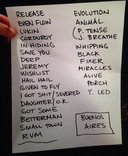 Setlist photo from Pearl Jam - Costanera Sur, Buenos Aires, Argentina - 3. Apr 2013
