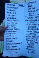 Setlist photo from Pearl Jam - Wrigley Field, Chicago, IL, USA - 19. Jul 2013