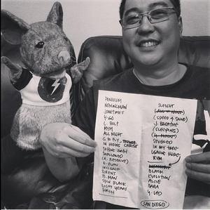 Setlist photo from Pearl Jam - Viejas Arena, San Diego, CA, USA - 21. Nov 2013